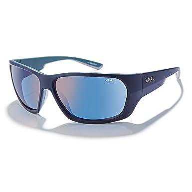 b8d22489b5a Zeal Optics Unisex Caddis Atlantic Blue W Polarized Horizon Blue Lens One  Size