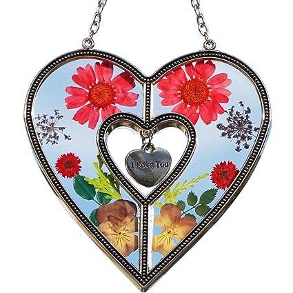Amazon.com: Lámpara Tiffany y fábrica de regalo I Love You ...