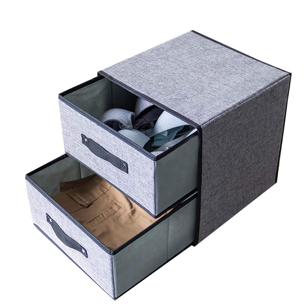 Cajas de almacenamiento plegables Paño creativo Plegable Lavable ...