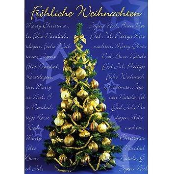 Weihnachtsbilder Din A4 Kostenlos.Grußkarte Weihnachten A4 Weihnachtskarte Im Din A4 Format