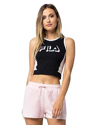 b7824e9033e3c Fila Women's Liana Crop Tank at Amazon Women's Clothing store: