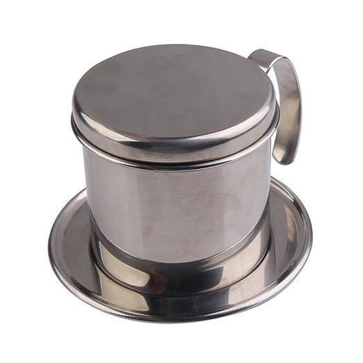 demiawaking vietnamitas Filtro de café cuenco cafetera de acero ...