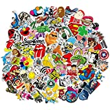 Sticker 200 Pcs Vinyl Waterproof Stickers Laptop Luggage Stickers Skateboard Guitar Travel Case Graffiti Sticker Door Car Motorcycle Bicycle Stickers Teens Adults Girls Boys (200 pcs)