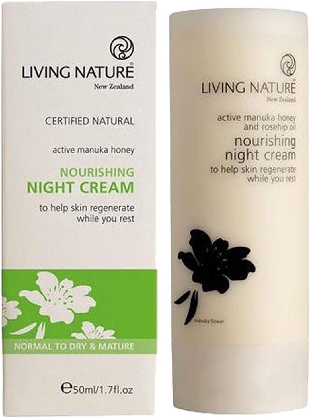 Living Nature Nourishing Night Cream 50 ml