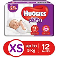 Huggies Wonder Pants Extra Small Size Diaper Pants, 12 Count