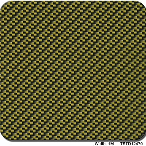 ハイドログラフィックフィルム、水転写印刷フィルム - ハイドロディップハイドログラフィックフィルム - ストライプチェック柄パターン - 高解像度グラフィックスハイドロディップフィルム1.0メートルマルチカラーオプション (Color : TSTD12470, Size : 1mx20m)