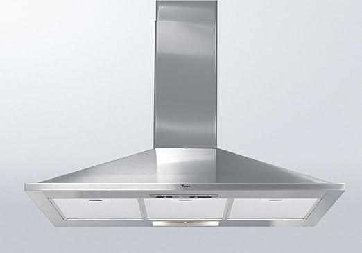 Whirlpool AKR 590 IX campana intégrable 90 cm, 600 m³/h acero inoxidable: Amazon.es: Grandes electrodomésticos