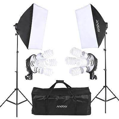 Andoer 撮影スタジオ 写真照明キット