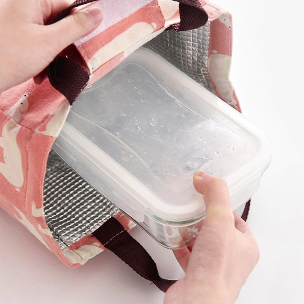 Sac disolation thermique Pliable Lunch bag Sac repas pour pique-niquer Mamum ciel bleu