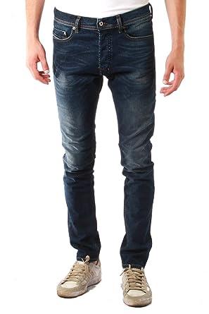 715c3382 Amazon.com: Diesel TEPPHAR 0853R L.32 jeans blu denim: Clothing