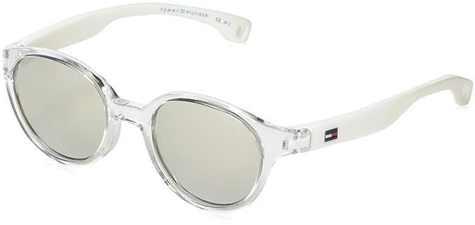 Tommy Hilfiger TH 1424/S SS, Gafas de Sol Unisex-Adulto, Crystal
