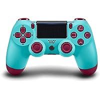 PS4 controlador sem fio Bluetooth Gamepad, [versão atualizada] Touch Panel Gamepad USB Cable com Dual Vibration e Audio…