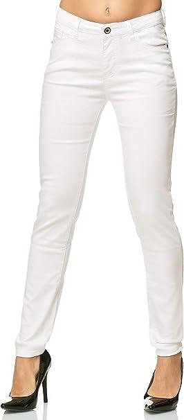 Elara Jeans Donna Elasticizzati Vita Alta Skinny Chunkyrayan