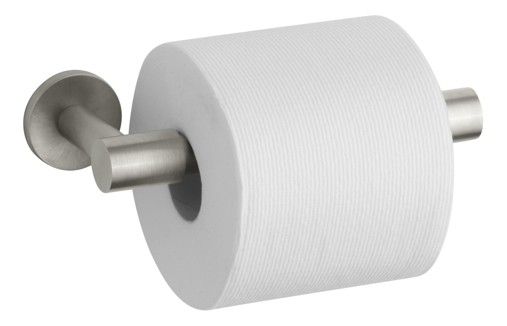 Kohler K-14393-BN Stillness Toilet Paper Holder, Vibrant Brushed Nickel