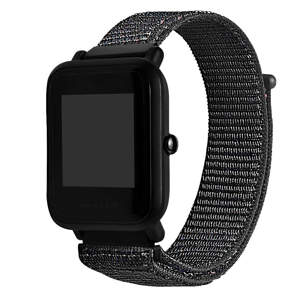 Saisiyiky Correa de Lienzo Wrist Watch Compatible con ...