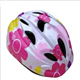 Cycling Bike Helmet, Multi-Use Sports Helmet for Boy and Girl Safety Protection Adjustable from Ages 3-7. (16.14-20.47in)-Pink