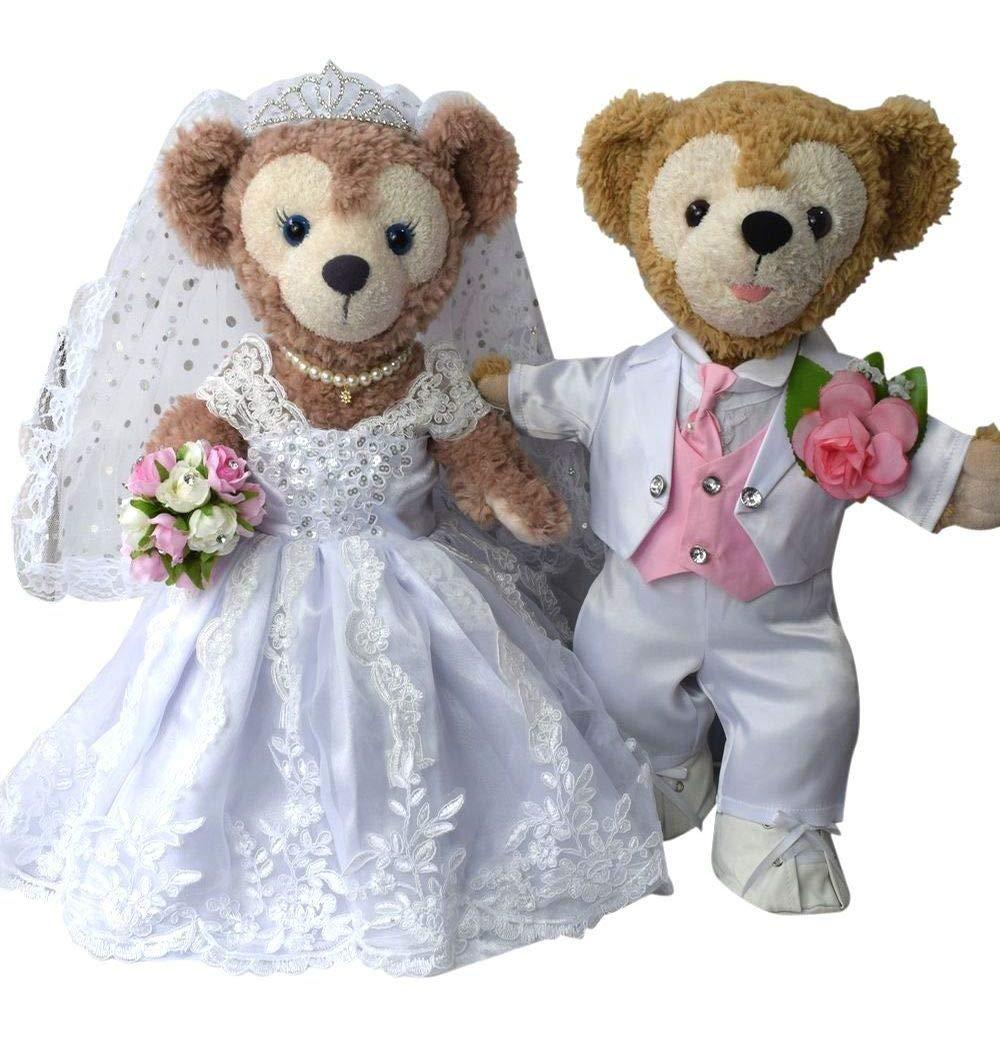 Precioso vestido de novia blanco de nieve Duffy boda y esmoquin Ver los mejores No.7 set (japn importacin)