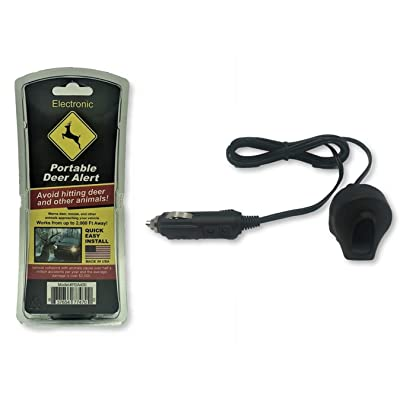 AAA Communications Car Deer Alert/Auto Deer Whistle Horn - Portable Electronic Whistles Avoid Vehicle Accidents: Automotive