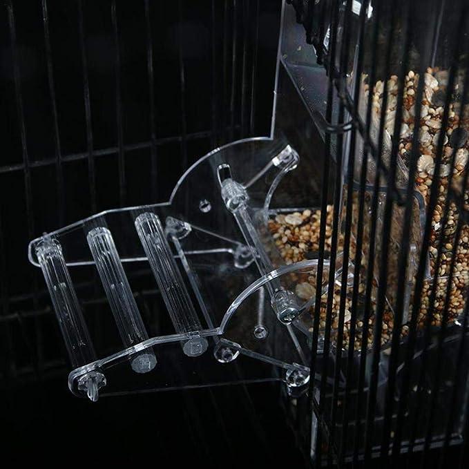 und Ziehschubladen Kleines Mundfutter Geeignet f/ür Alle Papageien Coseyil Papageien Automatische Futterspender Vogelfutterspender Vogelfutterstation mit Schub
