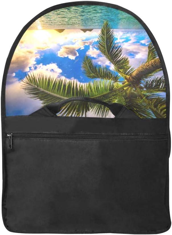 Laptop Bag Women Hawaii Sunrise Landscape Multi-Functional Laptop Sleeve Briefcase Fit for 15 Inch Computer Notebook MacBook