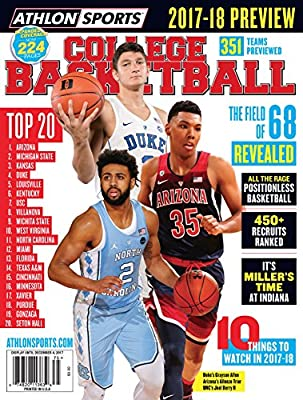 Athlon Sports 2017 College Basketball Preview Arizona Wildcats/Duke Blue Devils/North Carolina Tarheels