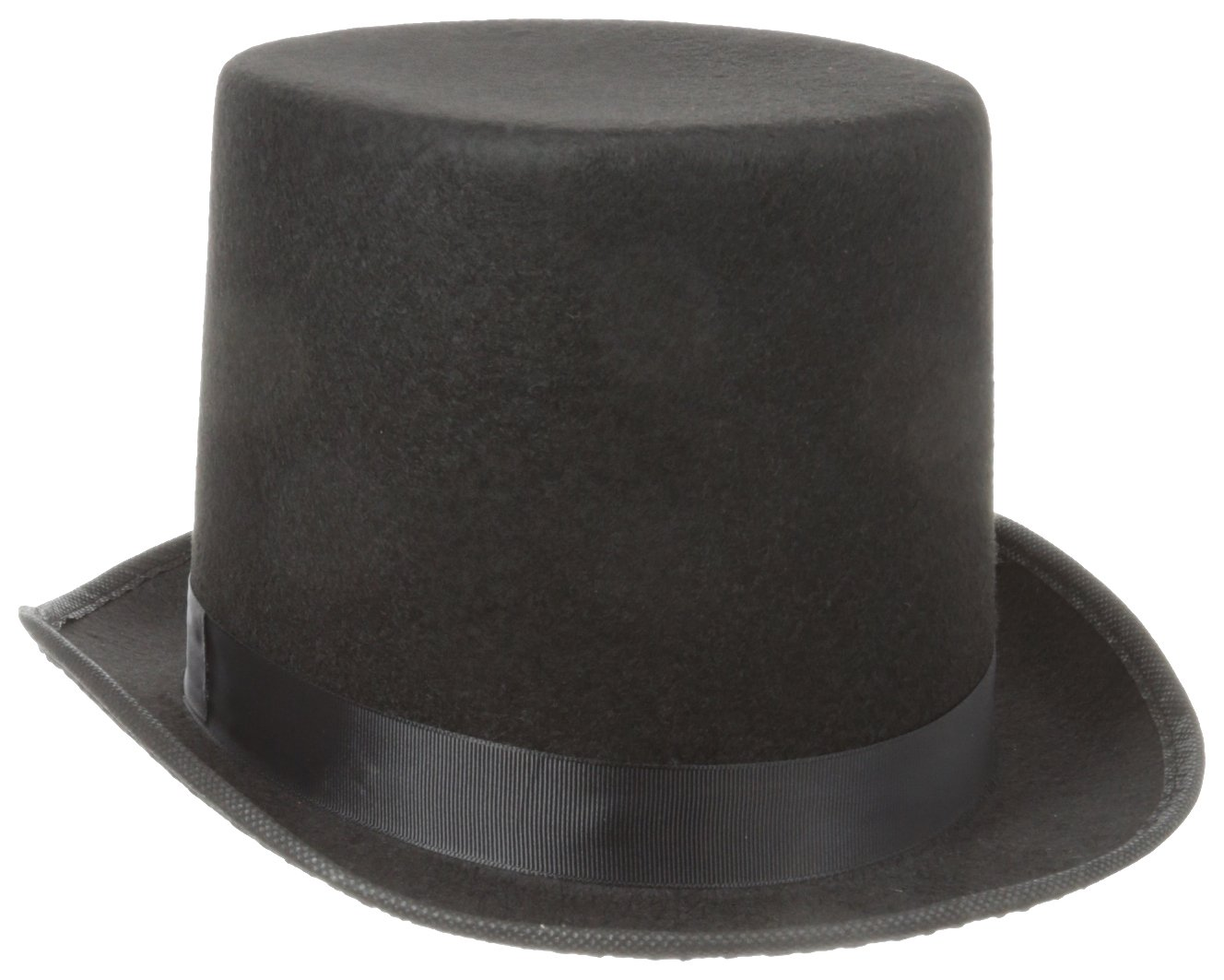 Jacobson Hat Company Men's Permalux Tall Top Hat (7 Inch Tall) Black Adult 23709 BKAO