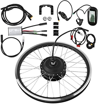Kit de conversión de rueda eléctrica de bicicleta de 27,5 pulgadas ...