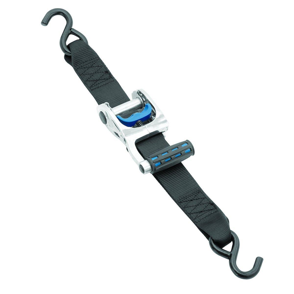 Fulton 2061266 2' x 10' Zinc Gunwale Max Grip Ratchet Tie Down Fulton 2061266 2 x 10' Zinc Gunwale Max Grip Ratchet Tie Down