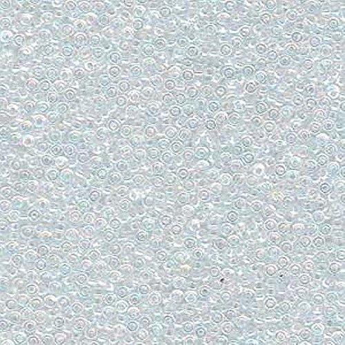 Ab Seed (Miyuki Seed Beads Round 15/0 8.2g Crystal AB)