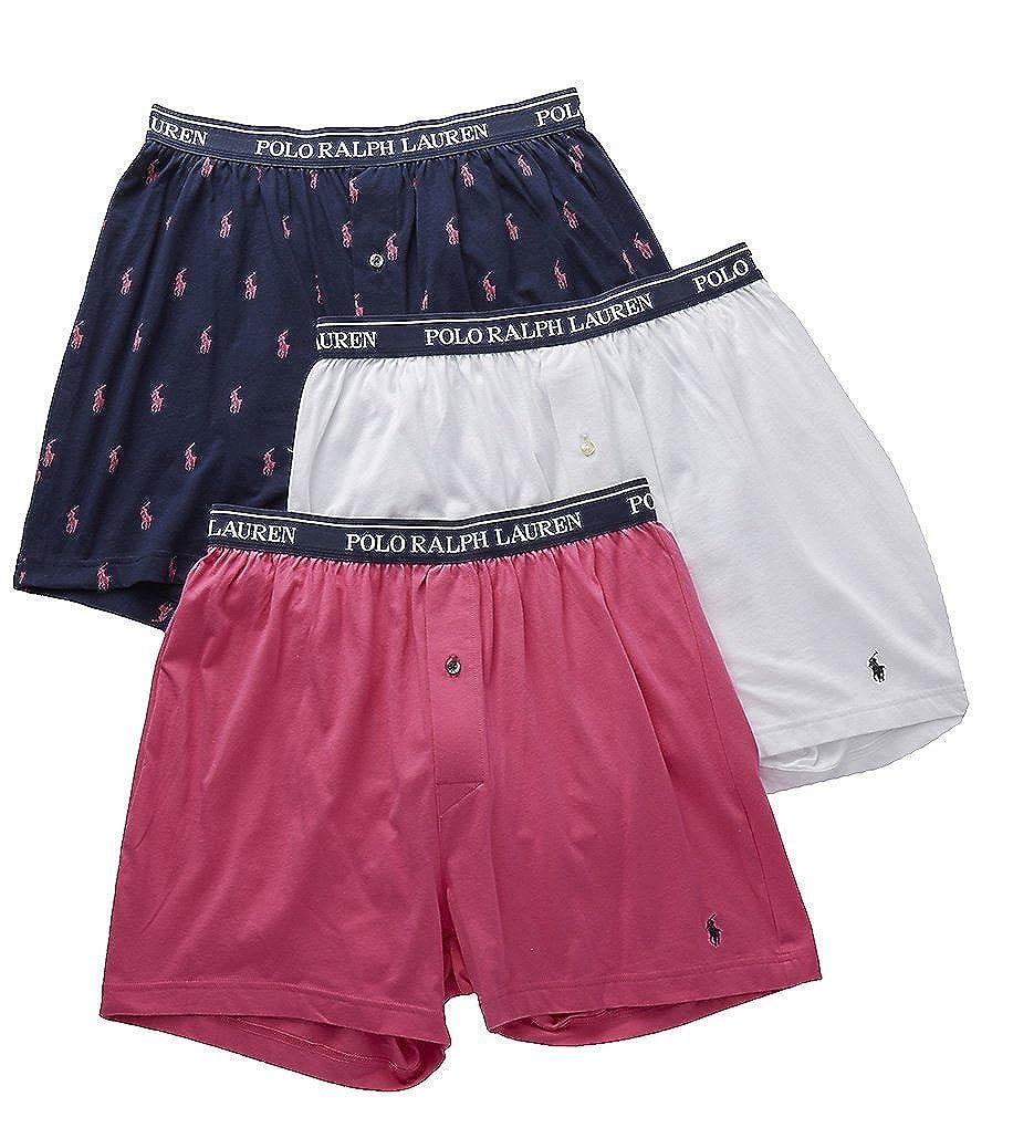 2bab81a39641 Polo Ralph Lauren Mens Underwear Classic Knit Boxer