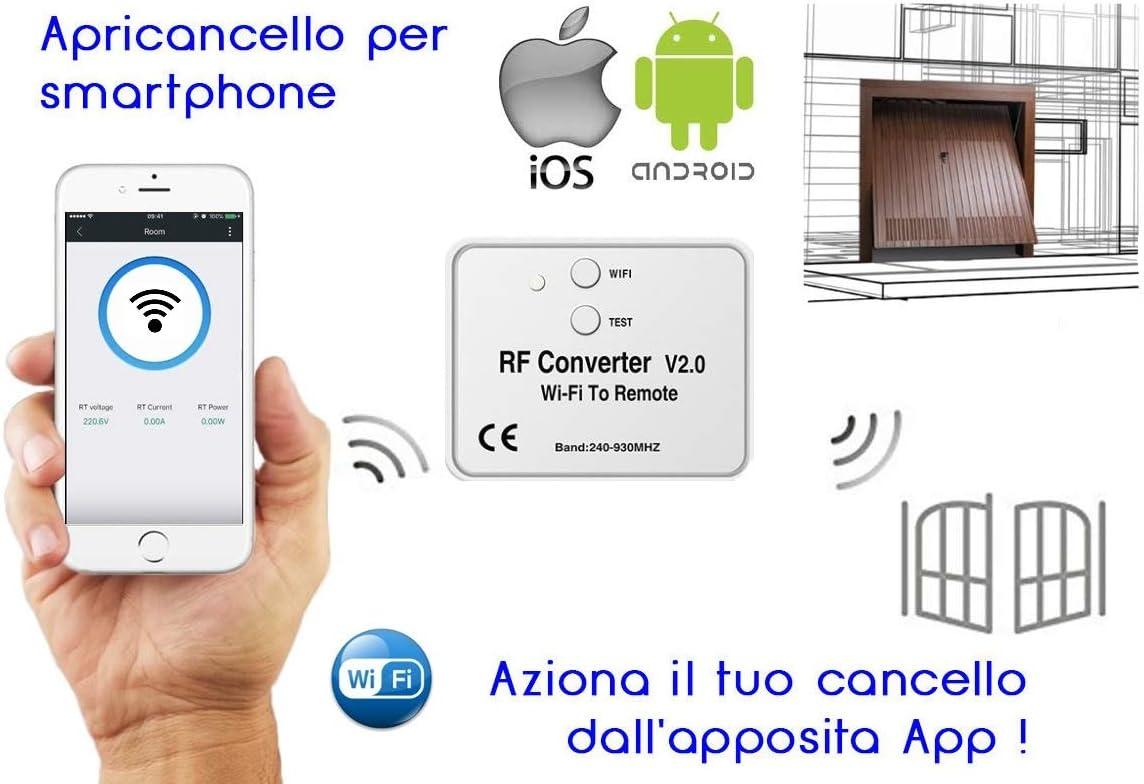 Conversor RF Radio mando a distancia Wifi de 240-930 MHz Nice ...