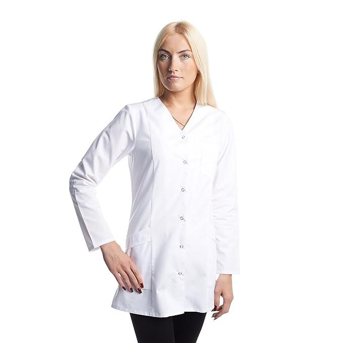 Vest Albus Bata Medicina Laboratorio de Trabajo Uniformes (XS)