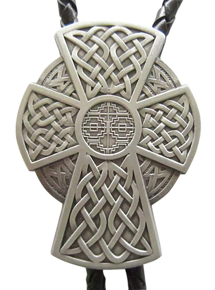 New Vintage Celtic Cross Bolo Tie also Stock in US