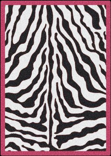 Milliken Black White Zebra Passion product image