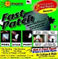 Self Adhesive Fast Patch Smooth (31 Repair Patches) wall patch kit