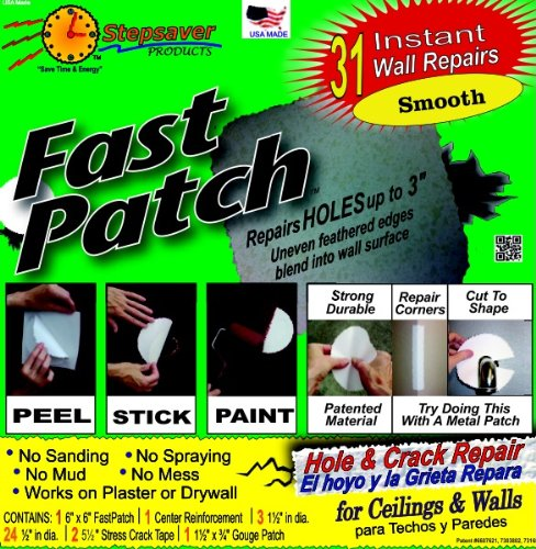 Self Adhesive Fast Patch Smooth  wall patch kit
