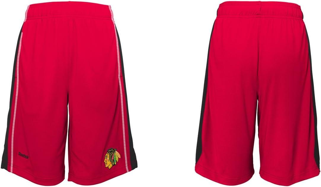 シカゴブラックホークス赤リーボックYouth Shorts
