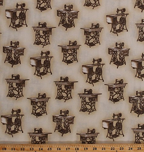 sewing machine print fabric - 8