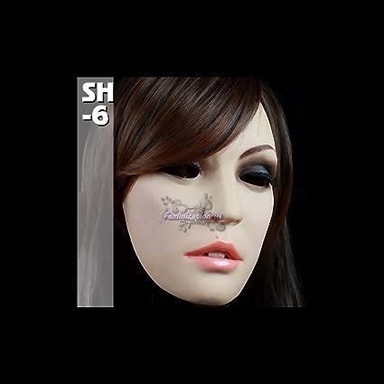 Female Semi Mask Christina Sissy Crossdressing Transgender