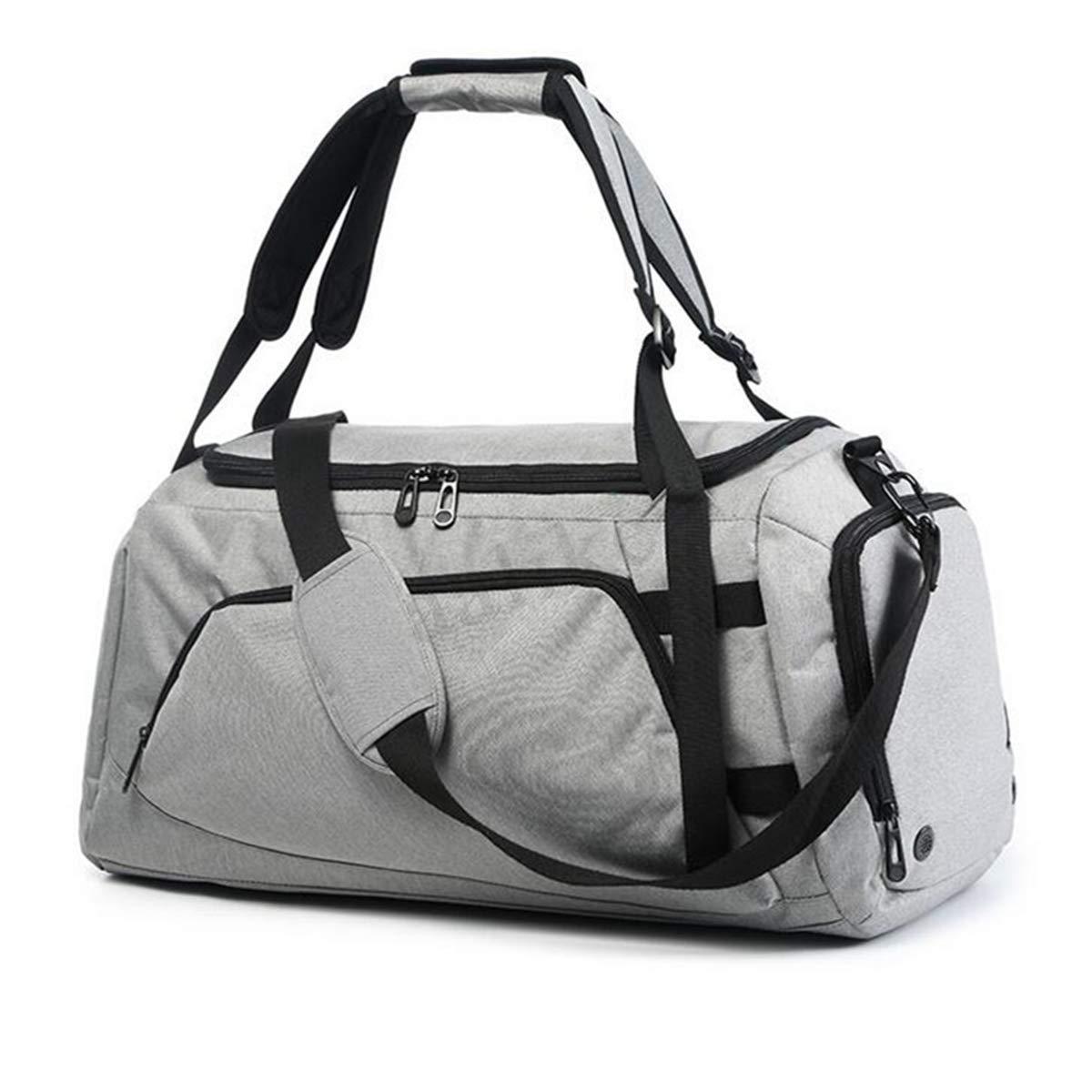 シューズ&バッグ > バッグスーツケース > スポーツフィットネスバッグ > スポーツショルダーバッグエナメルバッグ/Men Women Travel Sports Gym Bag Backpack Handbag Shoulder Crossbody Bags Duffel B07K9QWZ8X