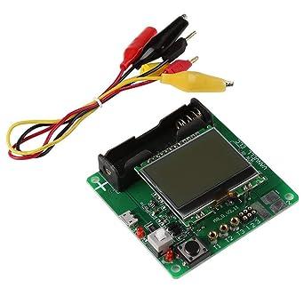 Multi-functional LCD MG328 Transistor Tester ESR Meter NPN PNP Diode Triode Capacitor MOSFET Resistor Tester DIY Kit