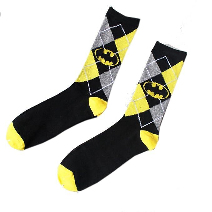 snfgoij Calcetines (10 Pares De Equipo) Calcetines De Algodón Casual Batman Plaid Desodorante Calcetines De Hombre, Black-OneSize: Amazon.es: Ropa y ...