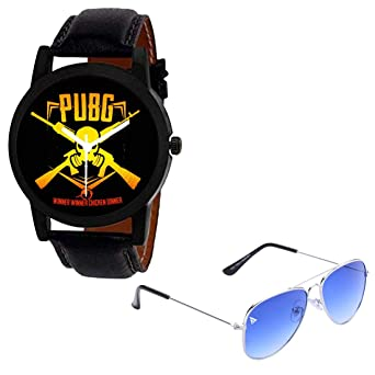 Buy PUBG Watches with Free Sunglasses Online at Low Prices