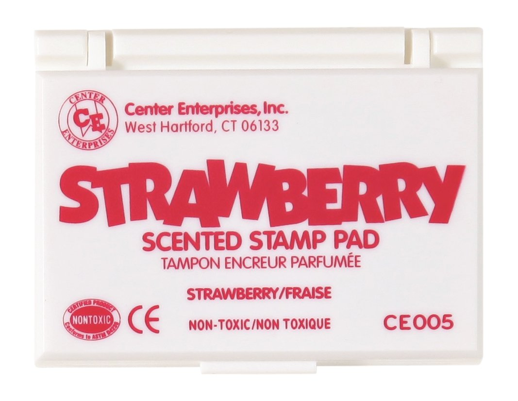 Center Enterprise CE005 Strawberry Scented Stamp Pads Hot Pink Center Enterprises Inc.