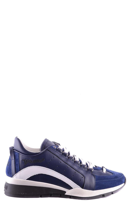 Dsquared2 メンズ SNM040413220001M071 ブルー 革 運動靴 B07DXCZRQQ