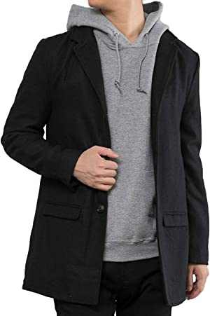 【 コート メンズ 】 メルトンチェスターコート ジャケット アウター チェスターコート 冬 冬コート ロングコート 通勤 ビジネス オシャレ