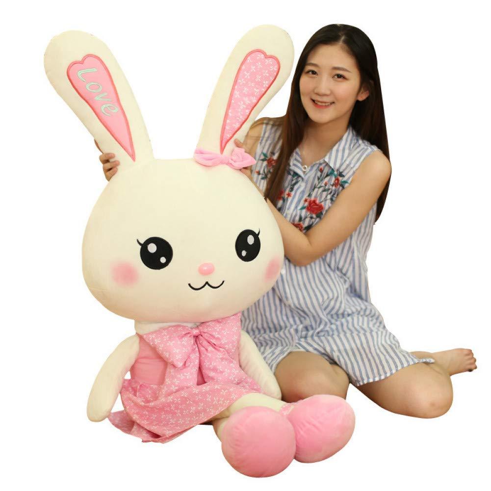 Las ventas en línea ahorran un 70%. 120cm LAIBAERDAN Muñeco De Tela De De De Felpa Juguete Personalizado Muñeca Muñeca Compañía Mascota Conejo Regalo  tienda de venta