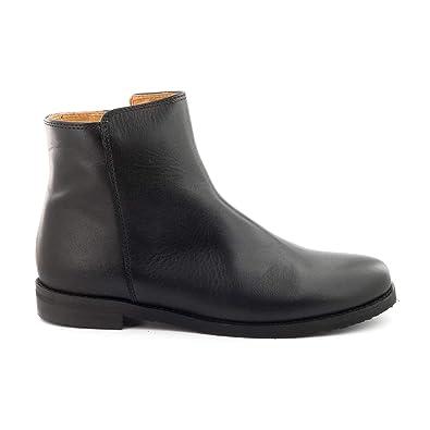 bff3bb12125d4 Boni Houston - Boots Enfant en Cuir Noir  Amazon.fr  Chaussures et Sacs