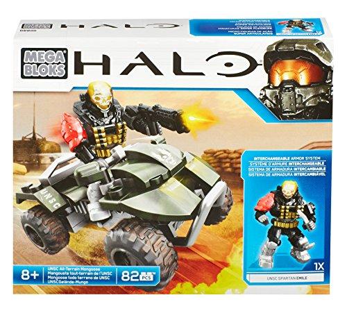 Mega Bloks Halo UNSC All-Terrain Mongoose by Mega Bloks