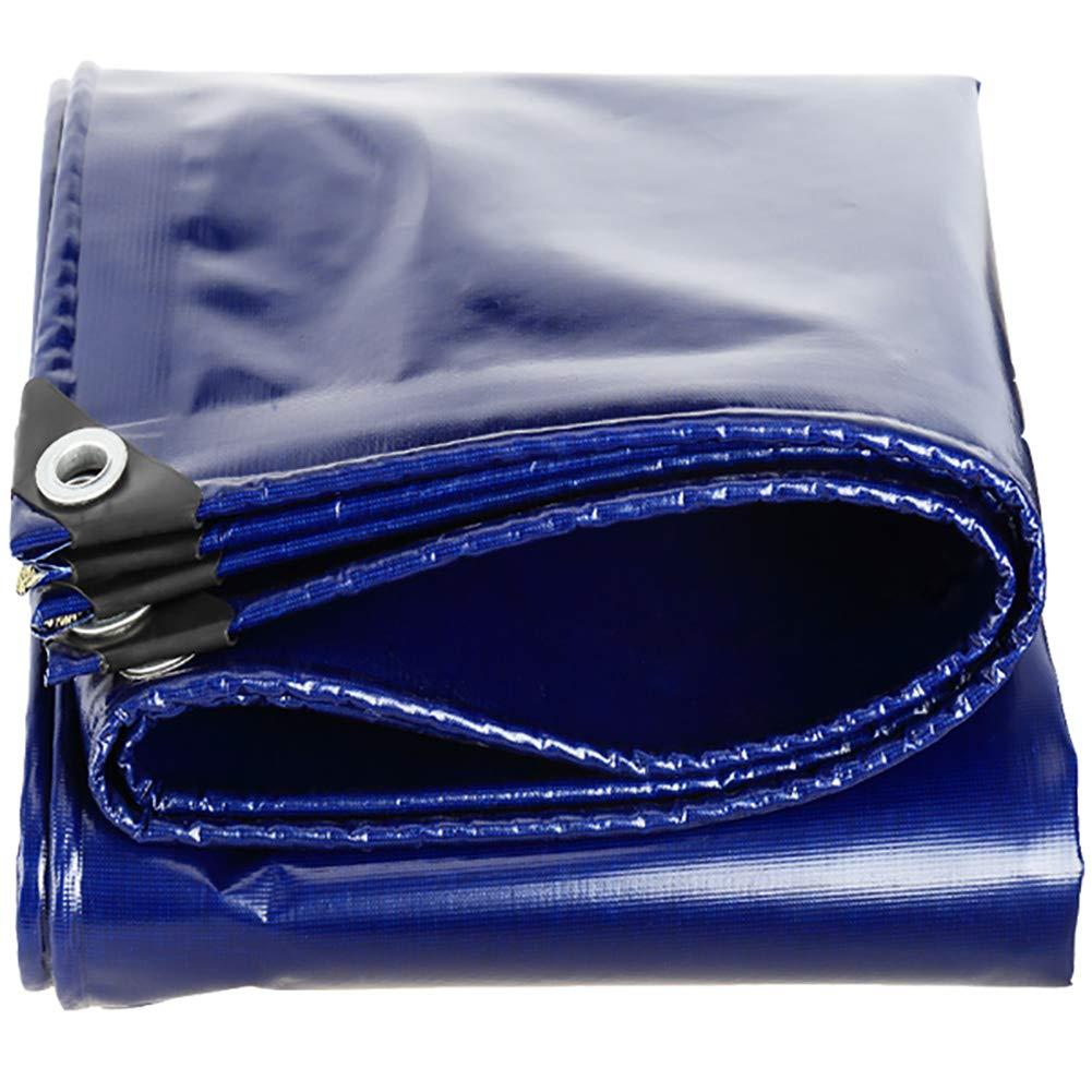 GUOWEI Plane Wasserdicht Frostschutzmittel Sonnencreme Staubdicht Antialterung Draussen, 10 Größen (Farbe : Blau, größe : 3.8x5.8m)